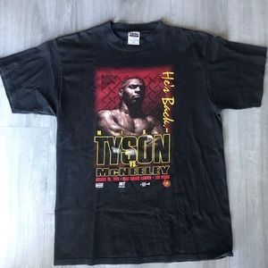 Other - Vintage Mike Tyson COMEBACK T-shirt 1995 RARE